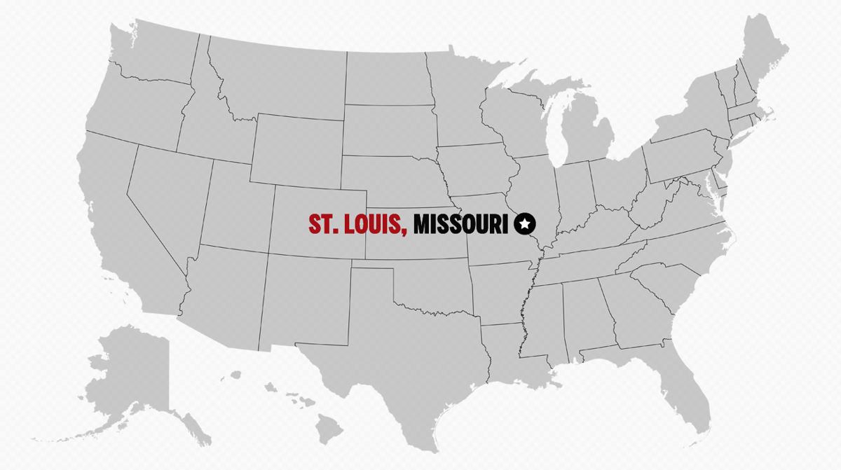 St. Louis, Missouri: #1