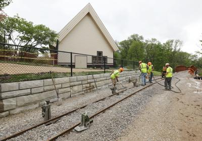On track: Scovill Zoo's $2.2M train extension expected to open by early June