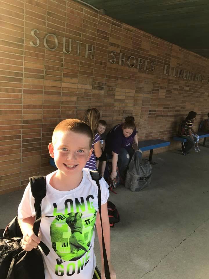 Sully, 4th grade, South Shores