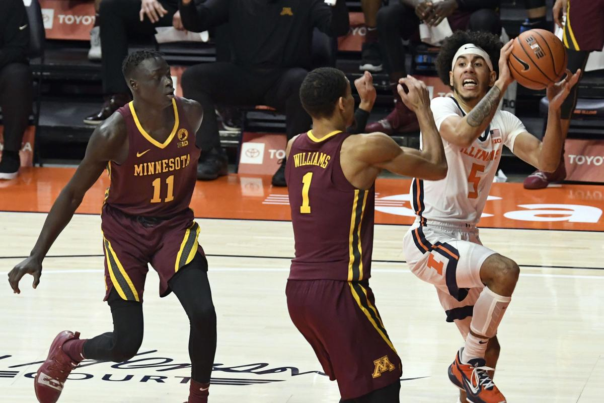 Minnesota Illinois Basketball
