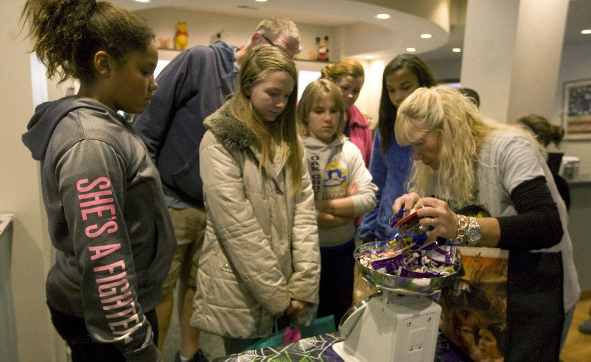 Jerger Pediatric Dentistry candy buyback treats soldiers | Local ...