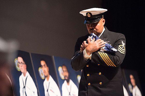 USS John S. McCain Memorial Service