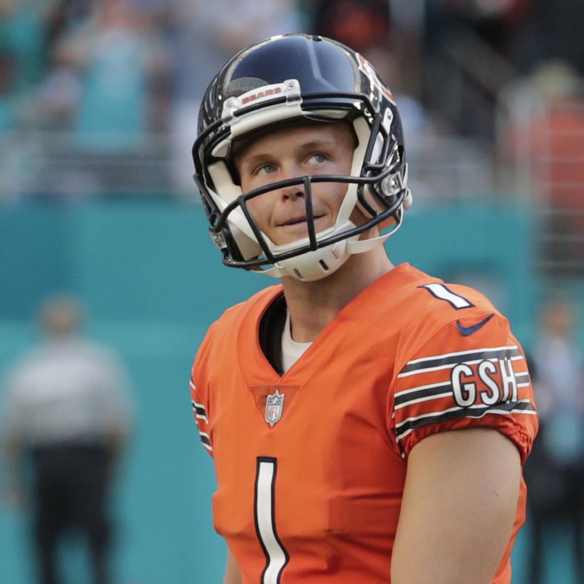 detailed look 62b56 d922c Bears Q&A: Could the Bears sign Robbie Gould to replace Cody ...
