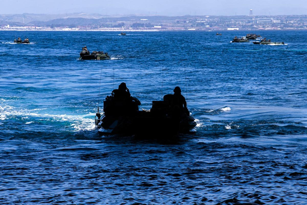 1 Marine dead and 8 others missing after amphibious vehicle accident off California coast
