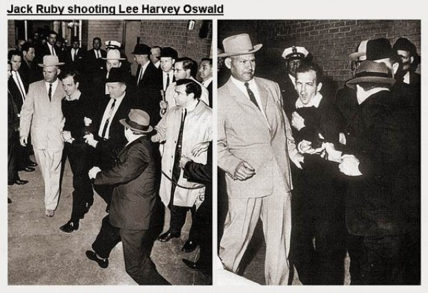Jack Ruby shoots Lee H...