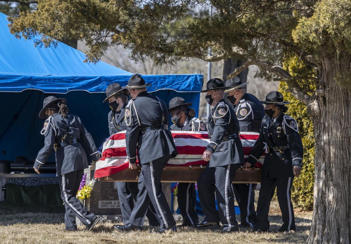 Burial of Eugene Lasco