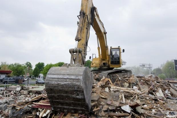TOMS demolition
