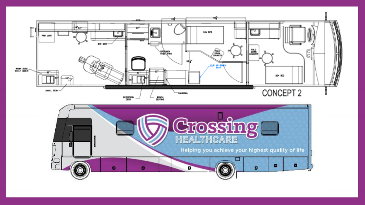 Crossing Healthcare Bus