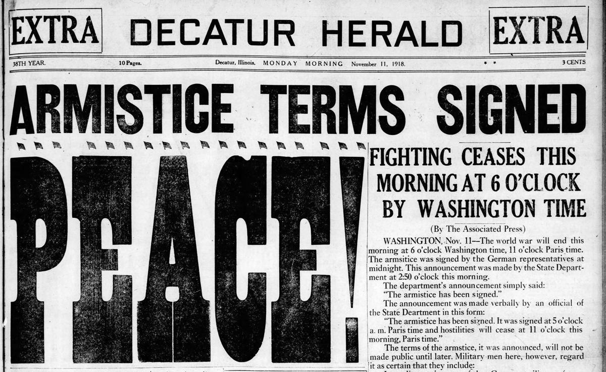 Armistice terms signed