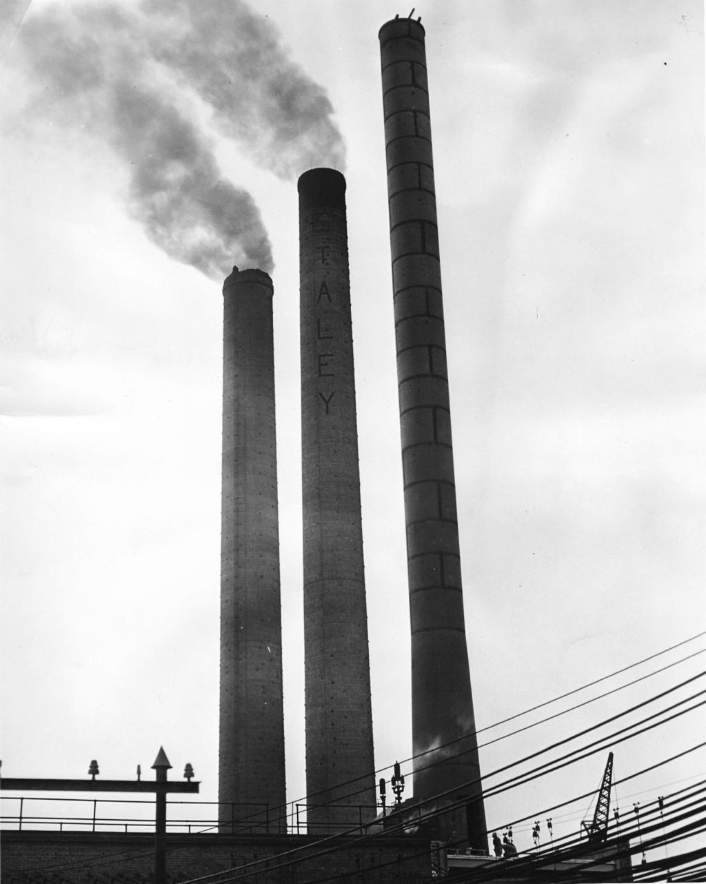 Photos: Staley smoke and smokestacks | History Photo Galleries