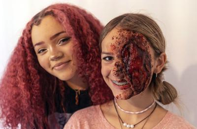 Watch now: MacArthur freshman designs wicked special effects with makeup