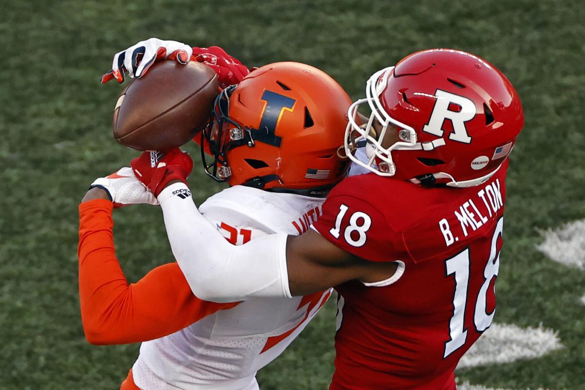 Illinois Rutgers Football