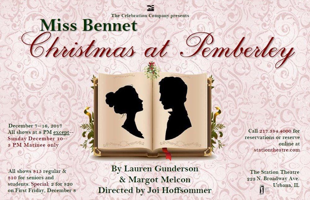 """Miss Bennet: Christmas at Pemberley"""