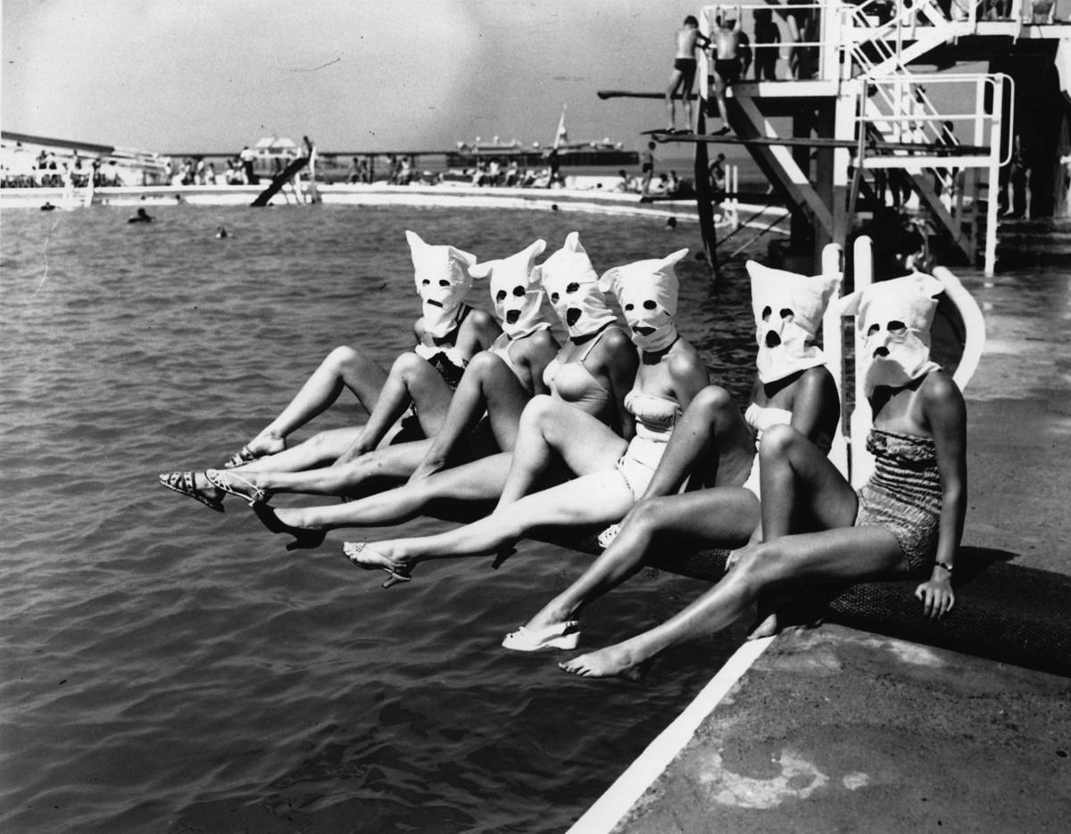 Masked Bathers
