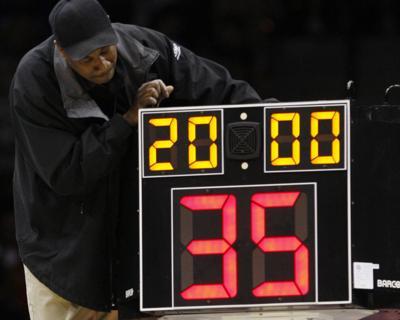 Shorter Shot Clock Basketball