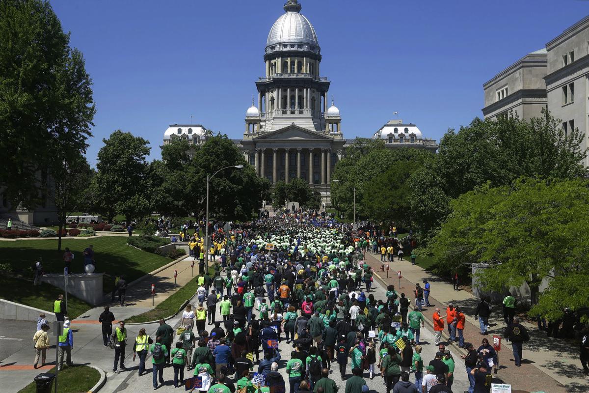 Illinois Union Rally