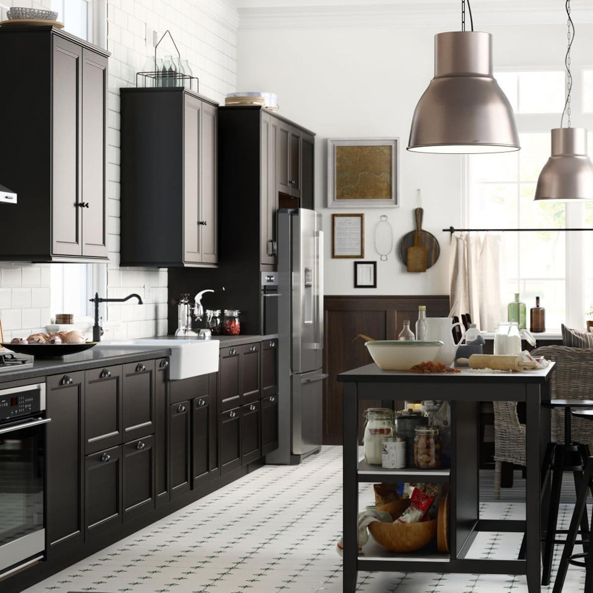 Basic Black Trend In Kitchen Decor Serves Up Style Home Garden Herald Review Com