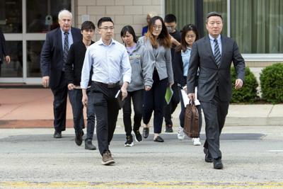 Zhang family in Peoria June 12