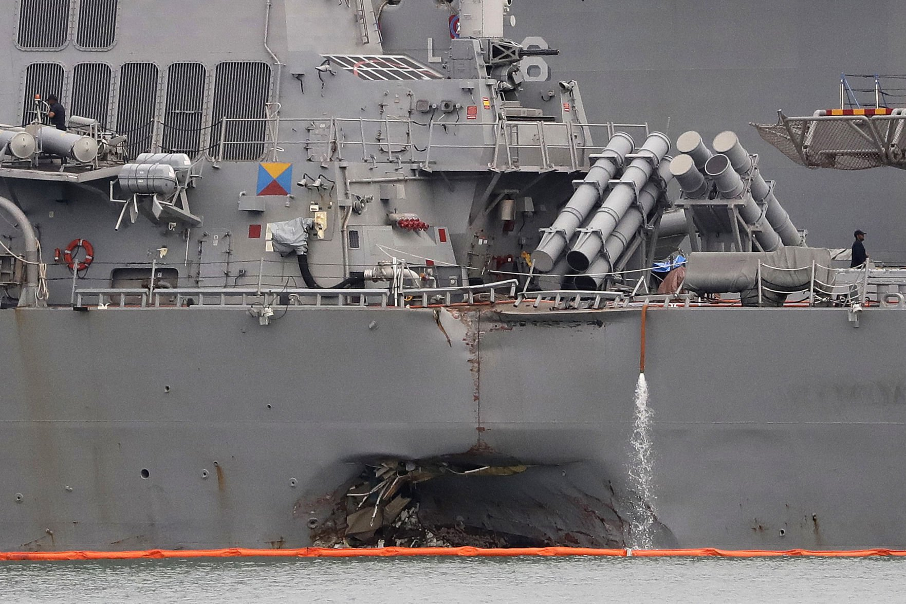 Navy relieves two more commanders in 7th Fleet after deadly collisions