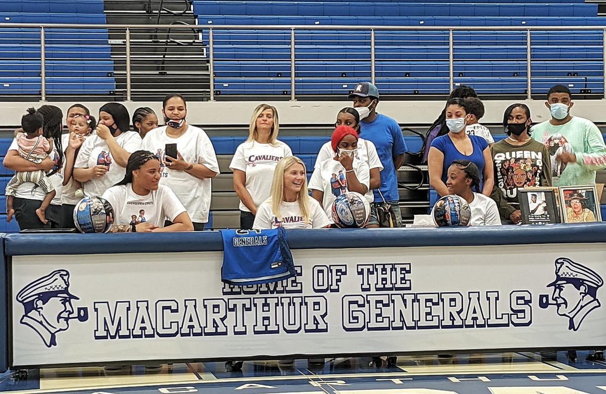 MacArthur girls basketball signing