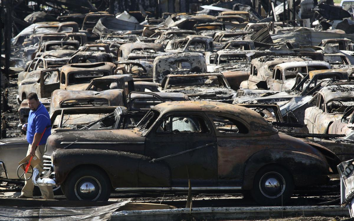 Fire destroys dozens of antique vehicles | State | herald-review.com