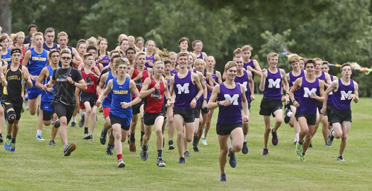 Local cross country teams compete in Monticello