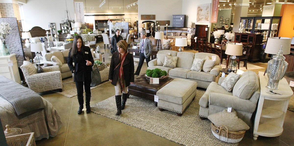 Ashley Furniture opens to fanfare Government and Politics