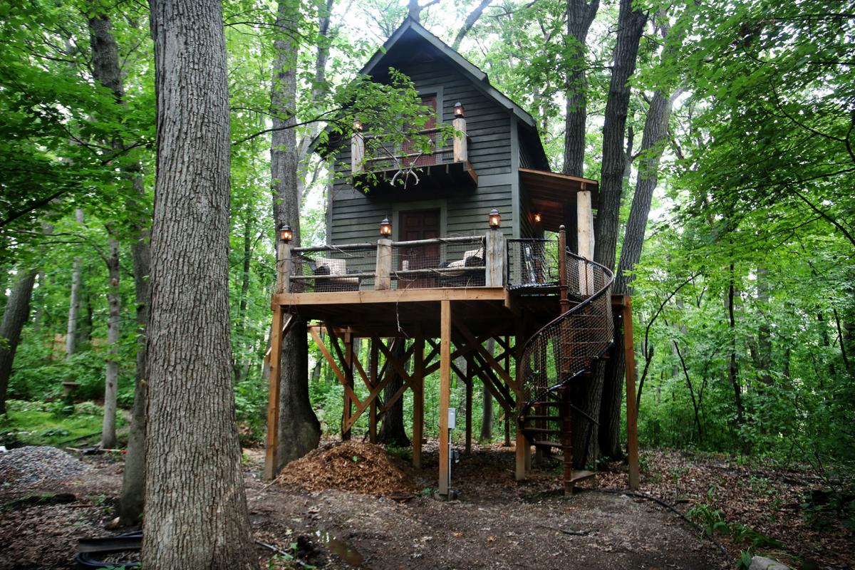 Living The High Life Tricked Out Treehouse Is The