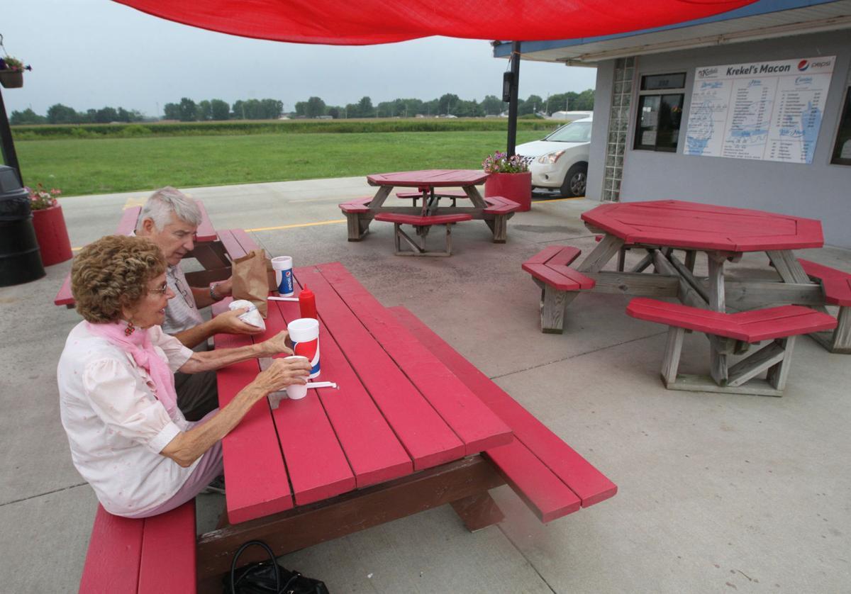 Enjoy lunch at Krekel's