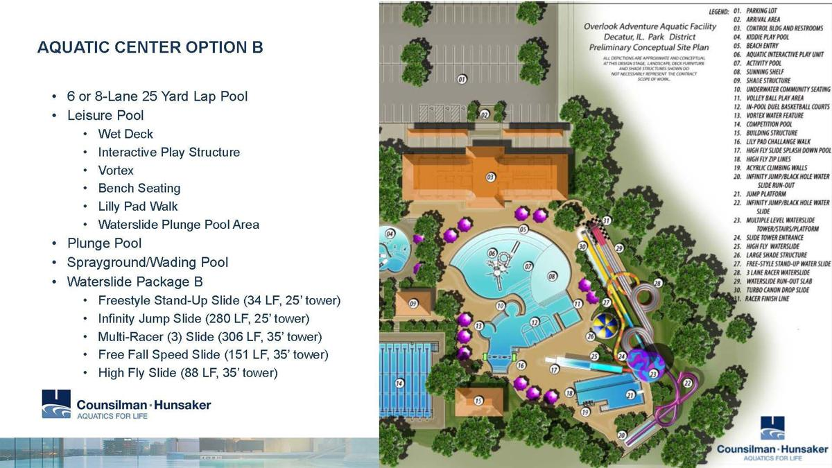 Aquatic Center Option B