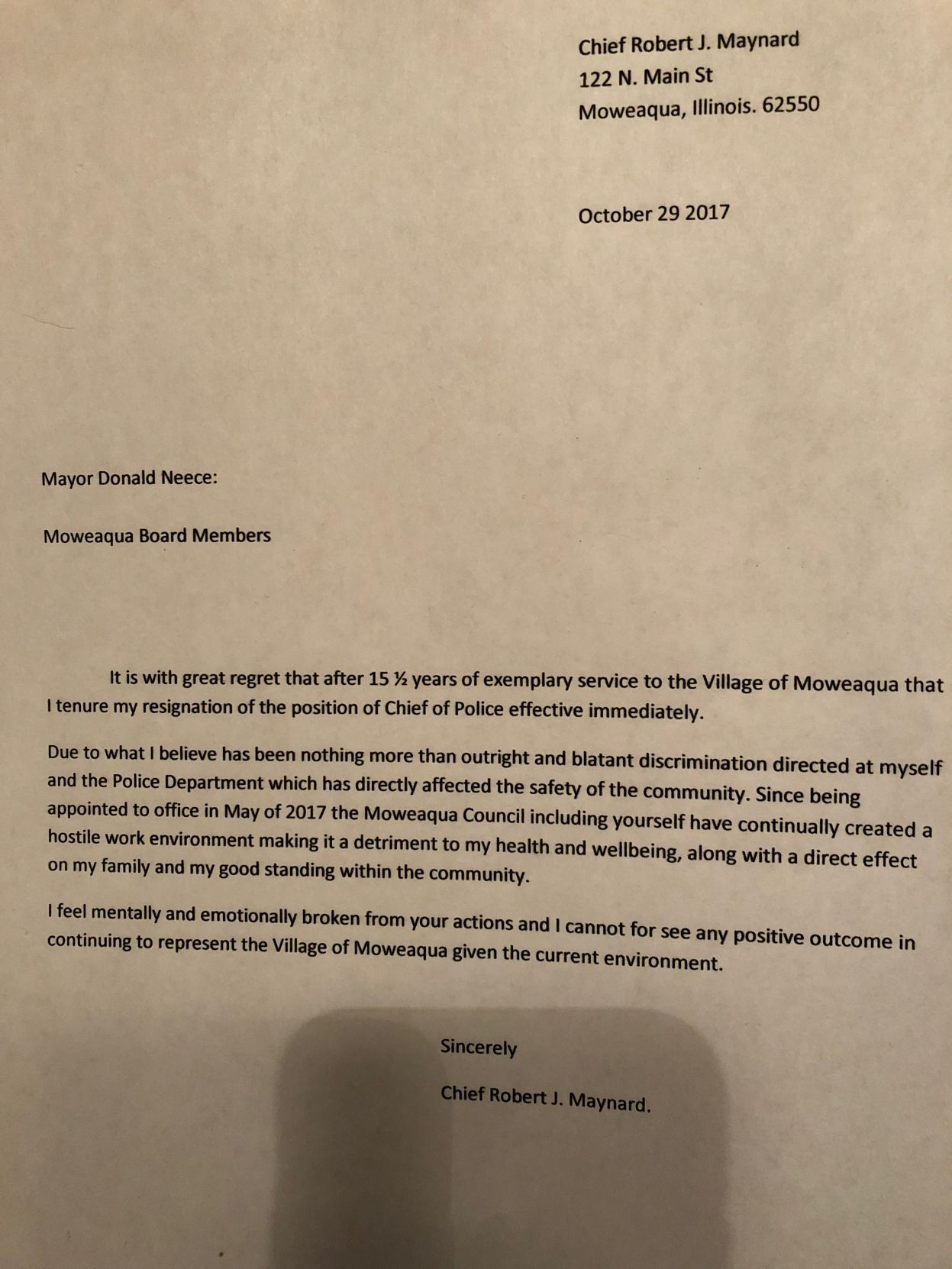 letter of resignation sample doc resignation letter