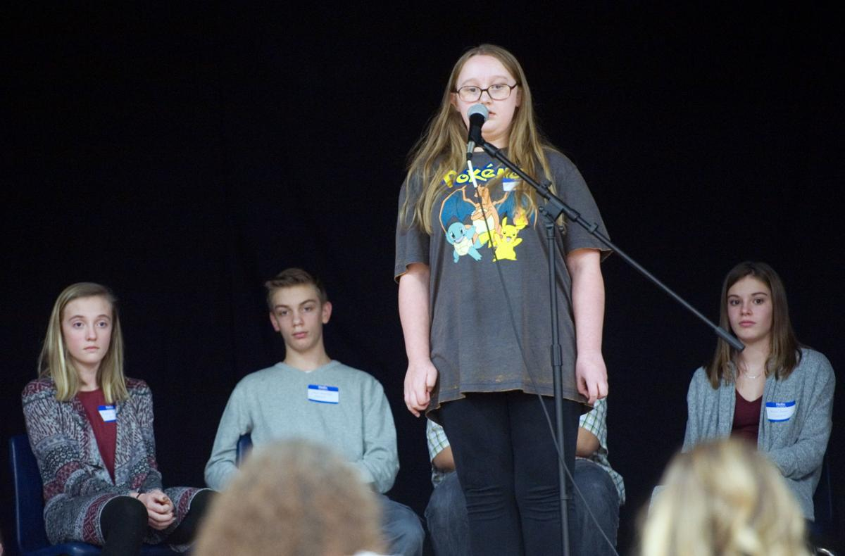 Charleston Student Wins Coles County Spelling Bee Education Herald Review Com
