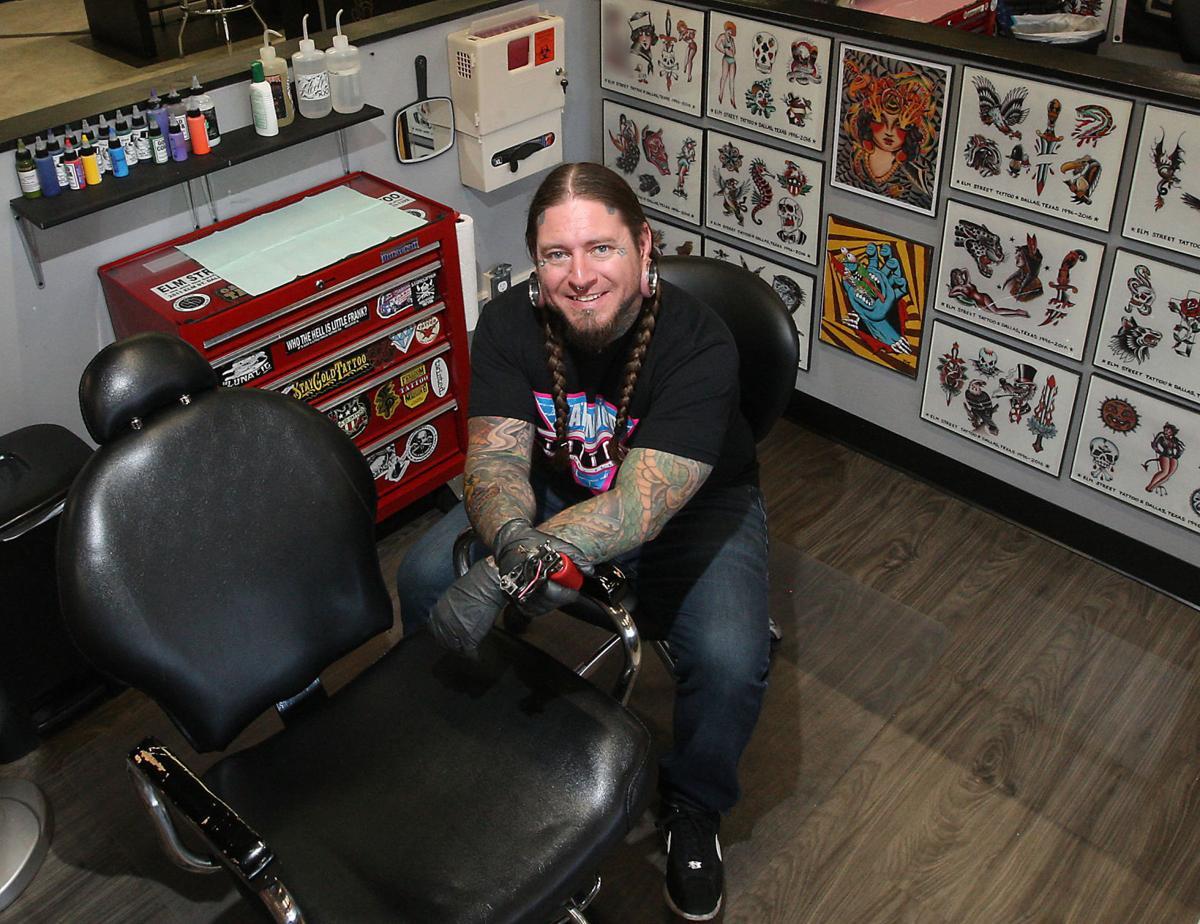 20 under 40 2017 frank little whittington 20 under 40 for Oakwood tattoo decatur il
