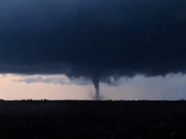 Taylorville funnel cloud