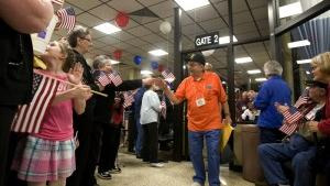 World War II veterans travel to Washington, D.C., for memorable trip