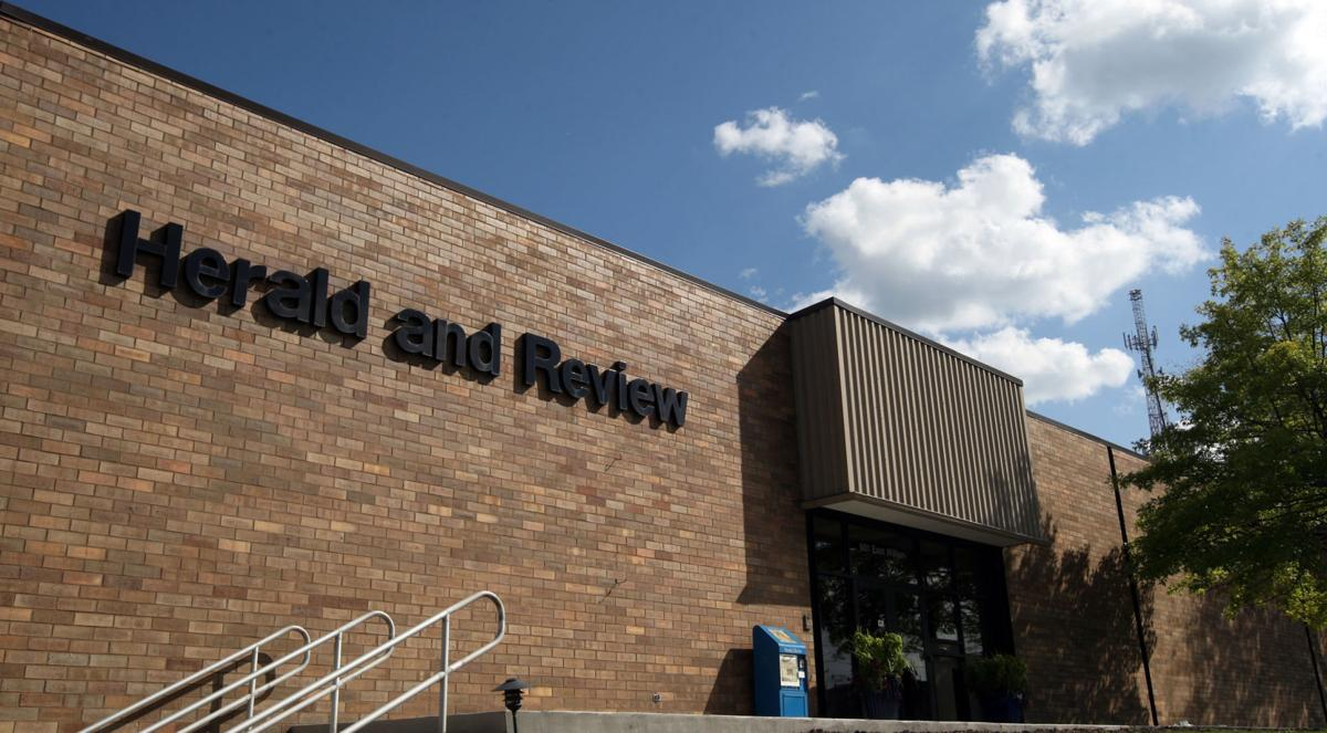 Herald & Review exterior September 2018