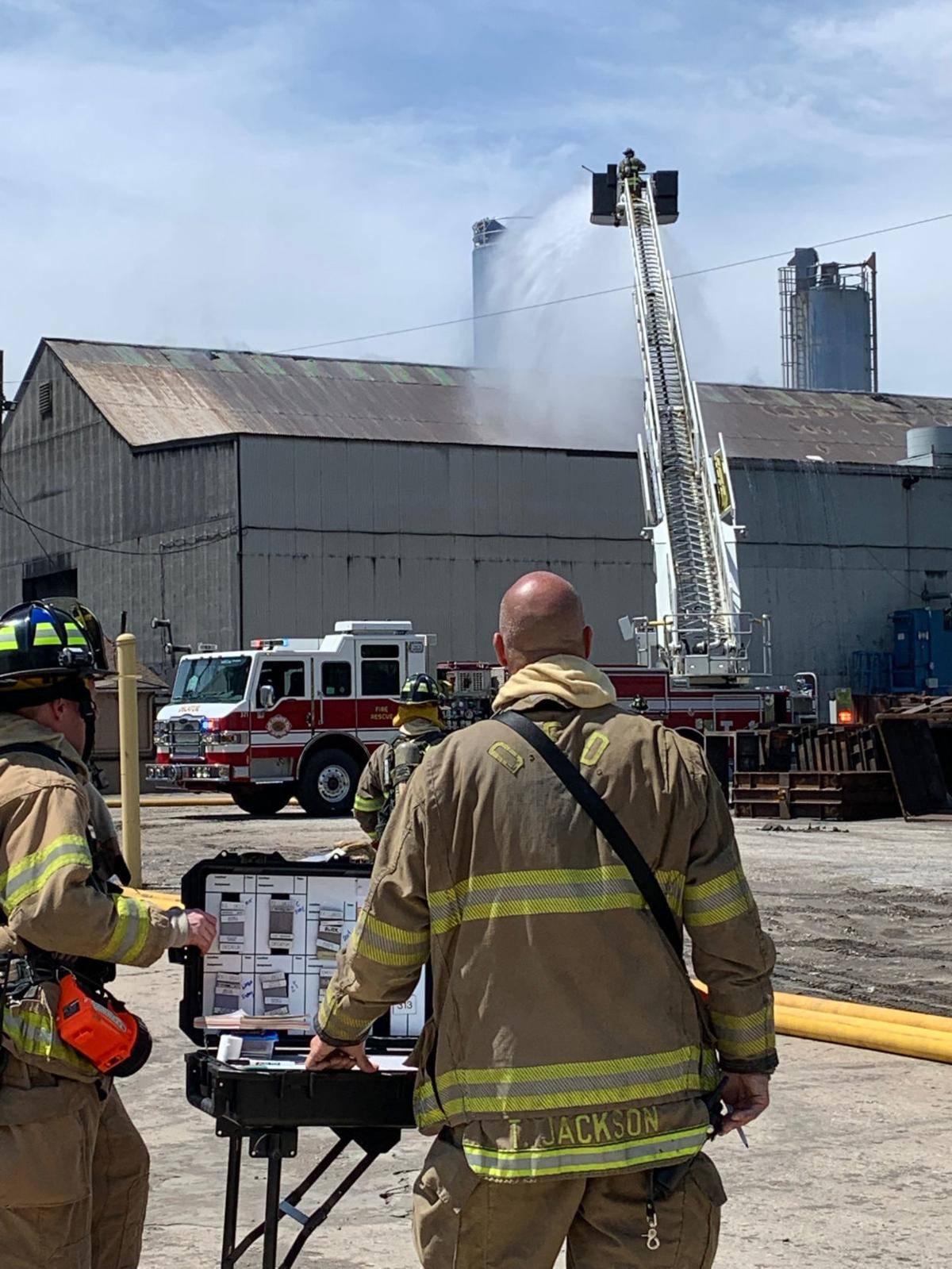 Decatur Foundry fire