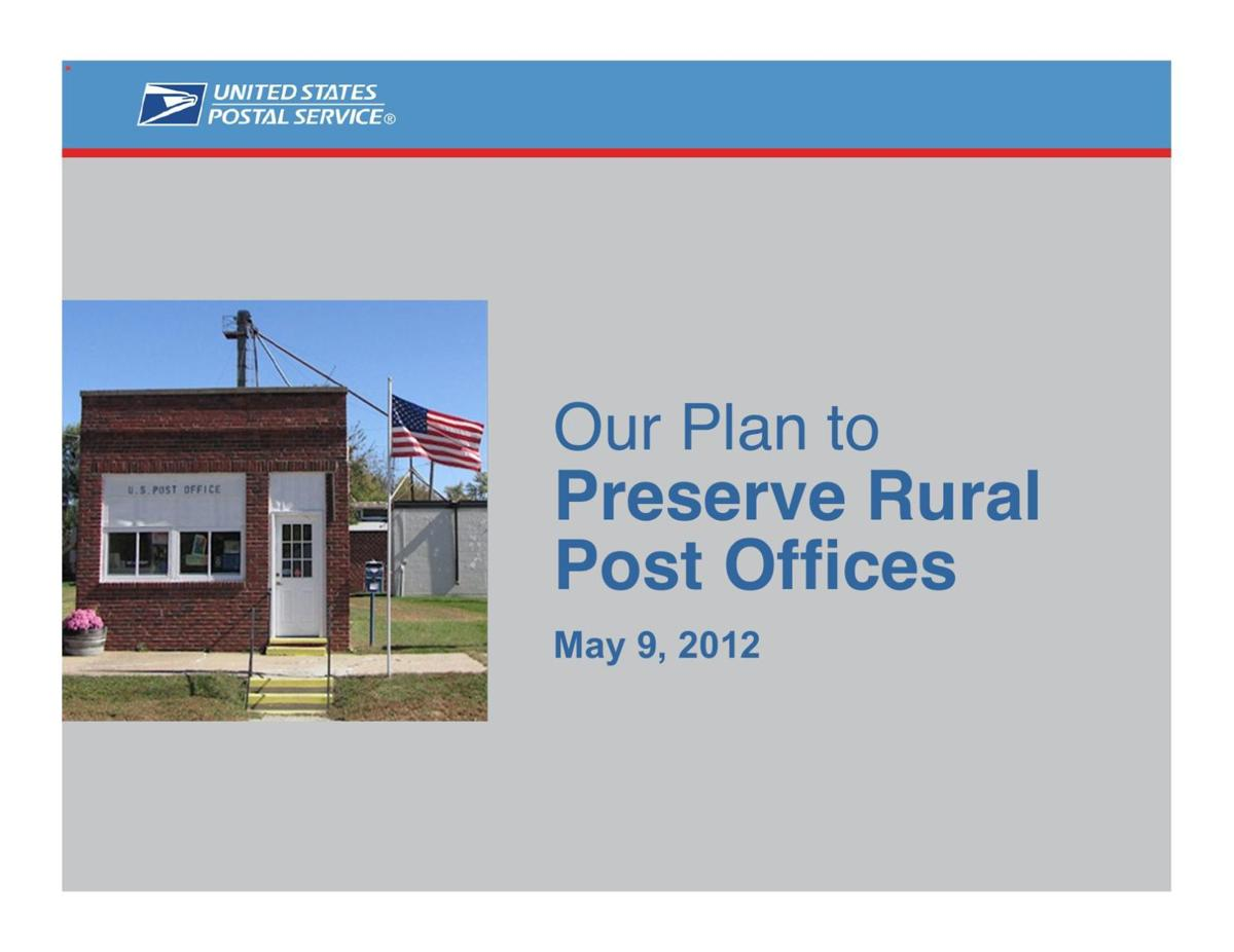 Rural Post Offices