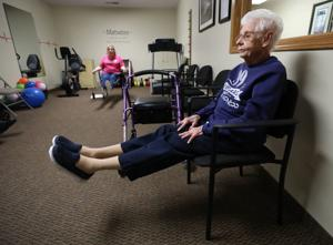 Even at 99 years old, Mount Zion woman makes exercise a priority