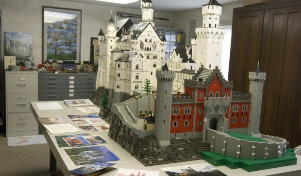 Maker Of Lego Castle Built To Scale Aims Big Local Herald Reviewcom