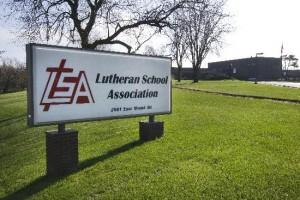 Lutheran School Association Sign