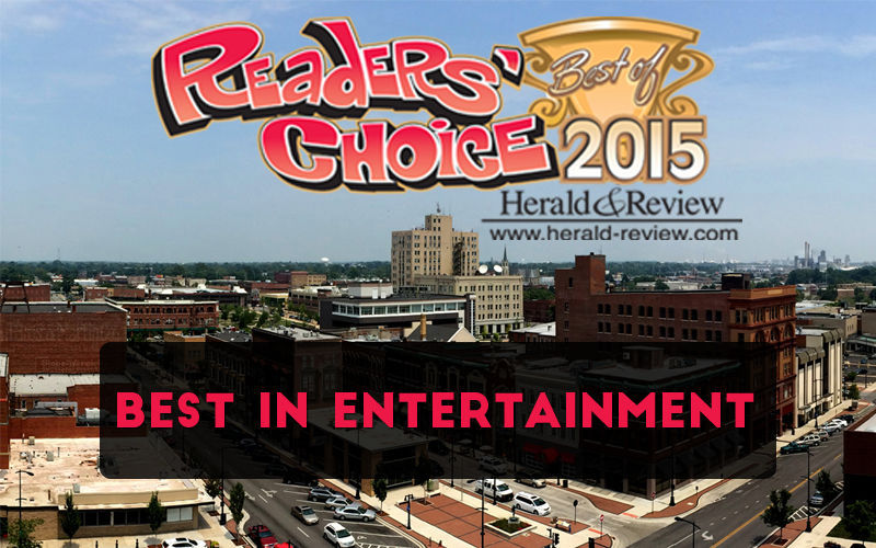 Readers' Choice 2015 - Best in Entertainment