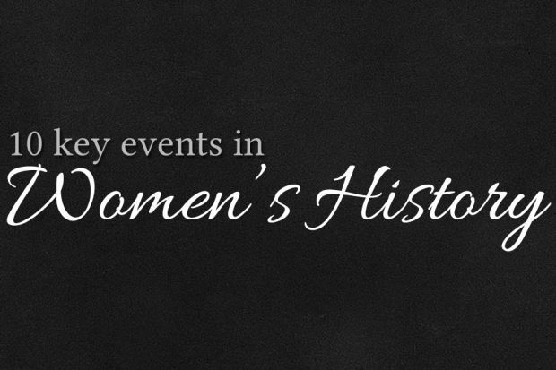 10 Key Events in Women's History