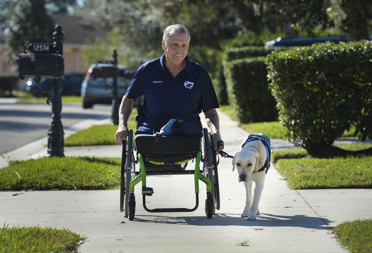 Exchange Veteran-Guide Dog