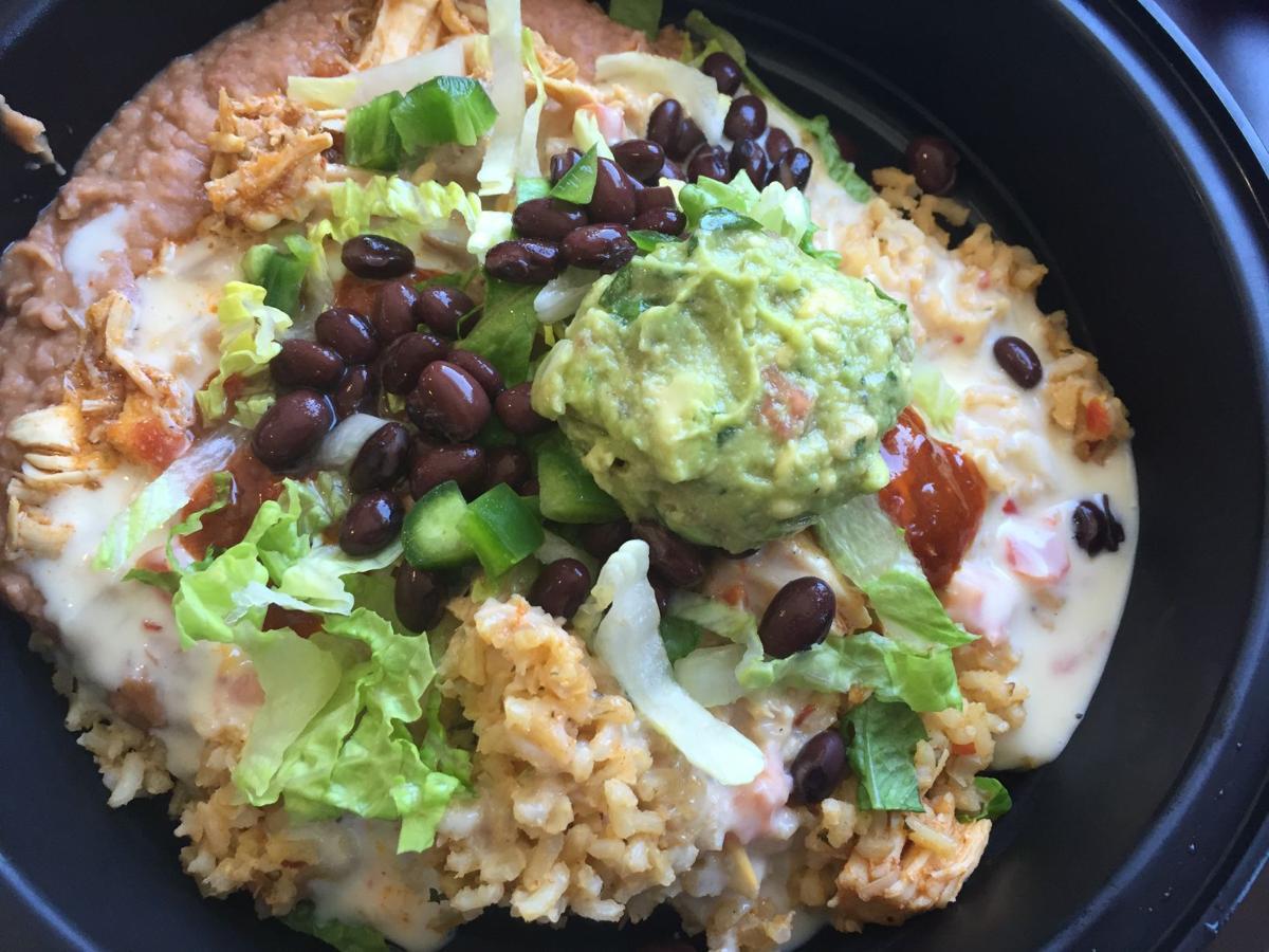 Solsa burrito bowl
