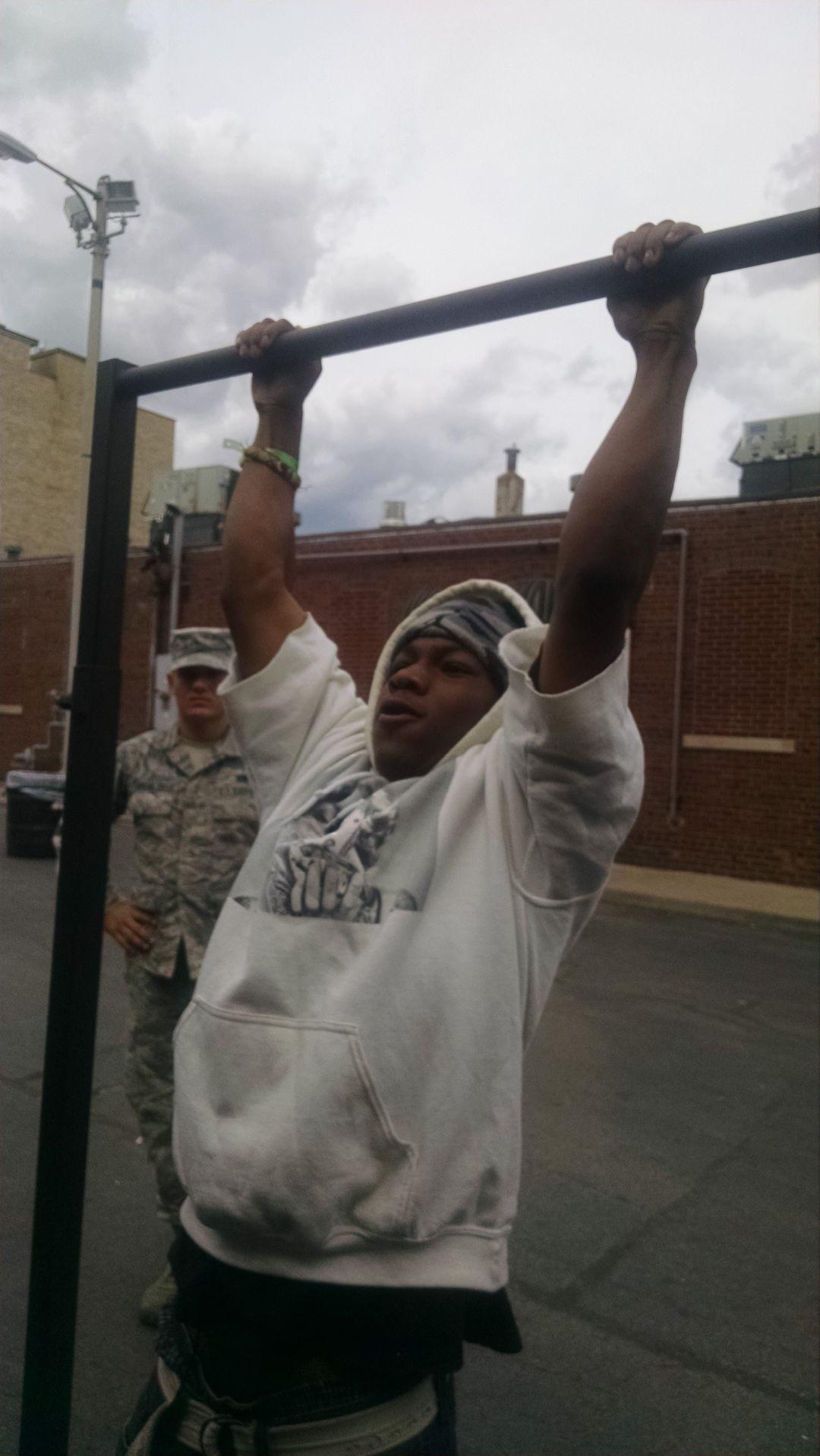 Air Force pull-up bar