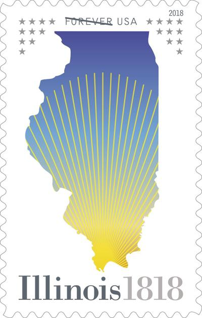 Illinois Statehood Stamp