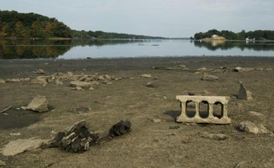 lake decatur receding at lost bridge road