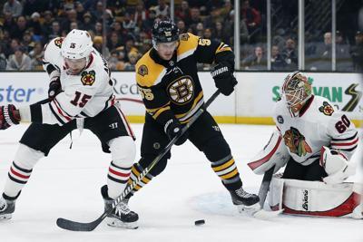 Blackhawks Bruins Hockey