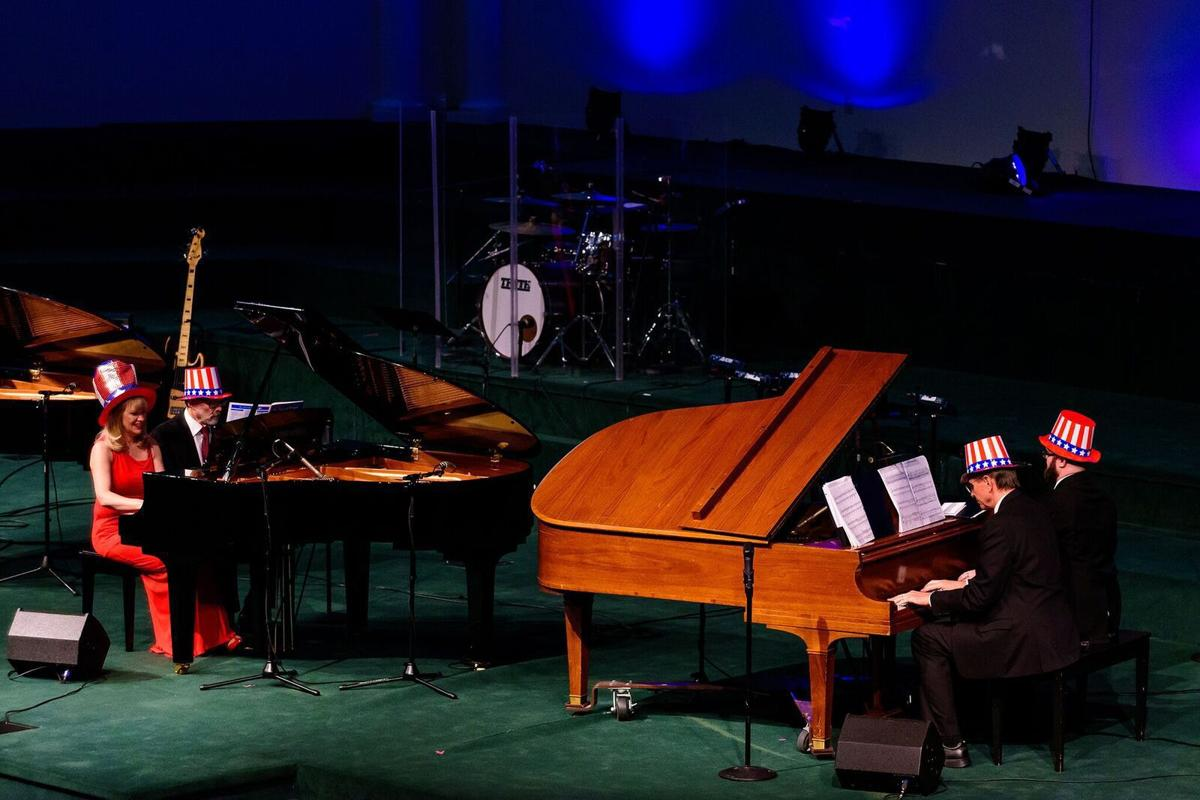 Julie Mcclarey Tickled To Benefit Salvation Army With Piano Show